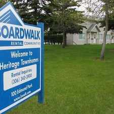 Rental info for Heritage Townhomes in the Saskatoon area