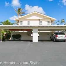 Rental info for 419 Opihikao Pl. #231