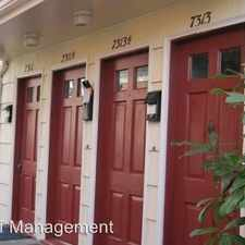 Rental info for 7311-7317 Woodlawn Ave NE in the Green Lake area