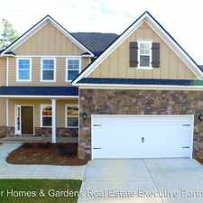Rental info for 393 Purbeck Lane Martinez in the Augusta-Richmond County area