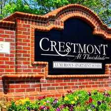 Rental info for Crestmont at Thornblade in the Greer area