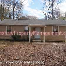 Rental info for 3312 Woodrow St. in the Frayser area