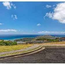 Rental info for 1904 Piimauna Place Honolulu, Build your dream home on this