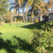 Rental info for LARGE DUPLEX WITH HUGE FULLY FENCED YARD