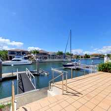 Rental info for STUNNING WATERFRONT ON SOVEREIGN ISLAND in the Gold Coast area