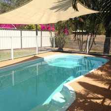Rental info for High-Set Home with In-Ground Pool in the Mount Isa area