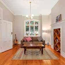 Rental info for RENOVATED THREE BEDROOM FEDERATION GROUND FLOOR DUPLEX in the Manly area