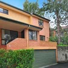 Rental info for DEPOSIT TAKEN in the Lane Cove North area