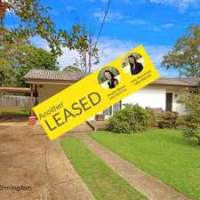 Rental info for LEASED BY RAY WHITE ERMINGTON | 9898 1822 in the Ermington area