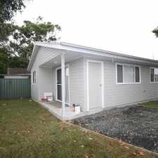 Rental info for NEAT & TIDY 2 BED CABIN in the Central Coast area