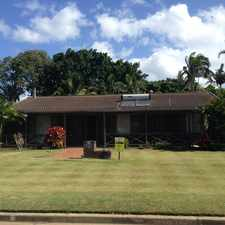 Rental info for Well Presented Home - 4 Bed, 2 Bath . . . Backing Onto Fantastic Park! in the Bundaberg area