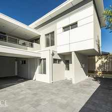 Rental info for REQUEST AN INSPECTION TIME in the Perth area