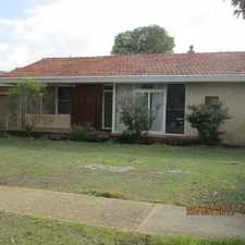 Rental info for SPACIOUS FAMILY HOME IN IDEAL LOCATION !!