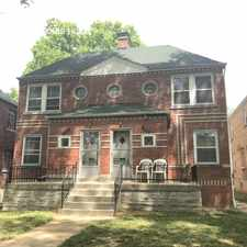 Rental info for 6335 Sutherland Ave. in the St. Louis Hills area