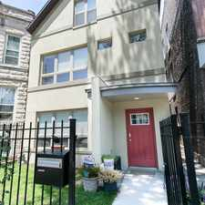 Rental info for N Rockwell St & W Crystal St in the Humboldt Park area