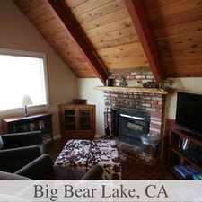 Rental info for Big Bear Lake Is The Place To Be! Come Home Today!