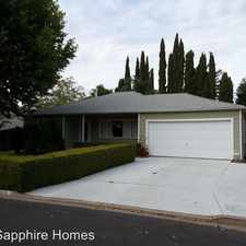 Rental info for 1838 Noemi Drive in the 94519 area