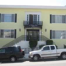 Rental info for Sunvic properties in the West Hollywood area
