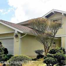 Rental info for 98-2009 Kaahumanu St. #38 in the Pearl City area
