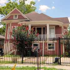 Rental info for 1615 Houston Ave. in the Houston area