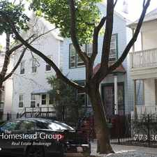 Rental info for Appealing 1 Bed, 1 Bath at Hoyne & Wellington (Roscoe Village) in the Roscoe Village area