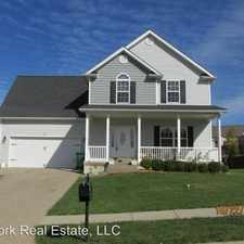 Rental info for 107 Sugar Hill Court in the Elizabethtown area