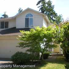Rental info for 7519 NE 203rd Street in the Kenmore area