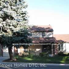 Rental info for 7905 E Bethany Pl in the Denver area