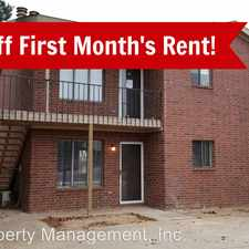 Rental info for 7402 Ave. X #C in the Lubbock area