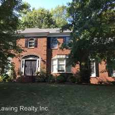 Rental info for 6829 Riesman Lane in the Sharon Woods area