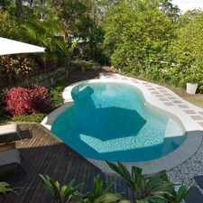 Rental info for PRIVATE HOME WITH POOL + MAGICAL VIEWS in the Sunshine Coast area