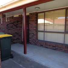 Rental info for TIDY UNIT IN A QUIET COMPLEX in the Cessnock area