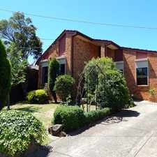 Rental info for MAGNIFICENT FAMILY HOME IN A FAMILY NEIGHBOURHOOD in the Melbourne area