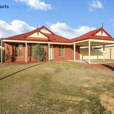 Rental info for Large 4 bedroom 2 bathroom home in the Perth area