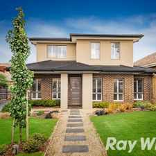 Rental info for Immaculate Townhouse in the Rosanna area