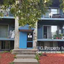 Rental info for 1074 York Ave in the St. Paul area
