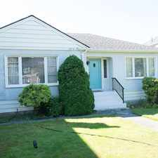 Rental info for 2316 West 21st Avenue in the Arbutus-Ridge area