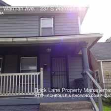 Rental info for 237 S. Warman Ave. in the Indianapolis area