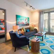 Rental info for Midtown Commons at Crestview Station in the Austin area