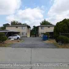 Rental info for 7617-7621 E Hellman Avenue - 7617C in the Rosemead area