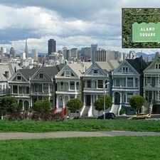 Rental info for Pearce Street in the Alamo Square area