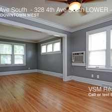 Rental info for 328 4th Ave South - 328 4th Ave South LOWER in the Elliot Park area