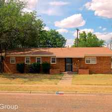 Rental info for 3202 38th Street in the Lubbock area