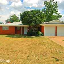 Rental info for 3201 38th Street in the Lubbock area