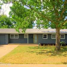 Rental info for 3114 40th Street in the Lubbock area