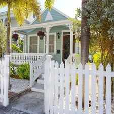 Rental info for $4483 2 bedroom House in Key West