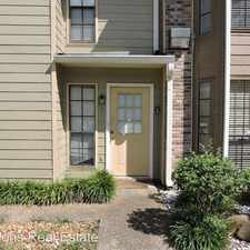 Rental info for 413-B Longwood Court in the 70802 area