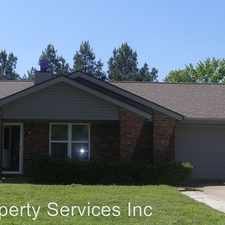 Rental info for 1307 Strozier Court in the 72903 area
