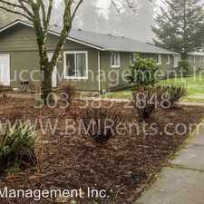 Rental info for 3829 24th Pl NE in the Keizer area