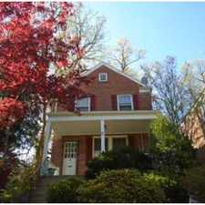 Rental info for Walnut St NW & Walnut Ave in the Fort Totten - Riggs Park area